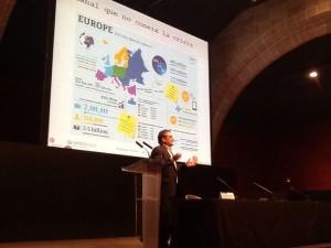 Conferencia Santiago Sanchez en Cambra de Barcelona